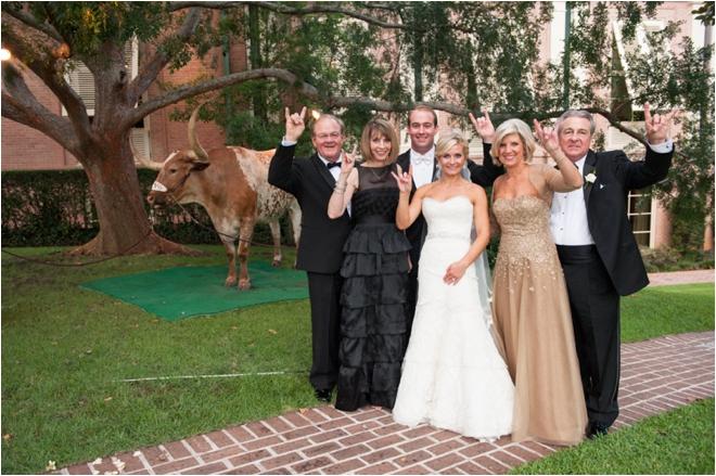 Longhorn Family photo
