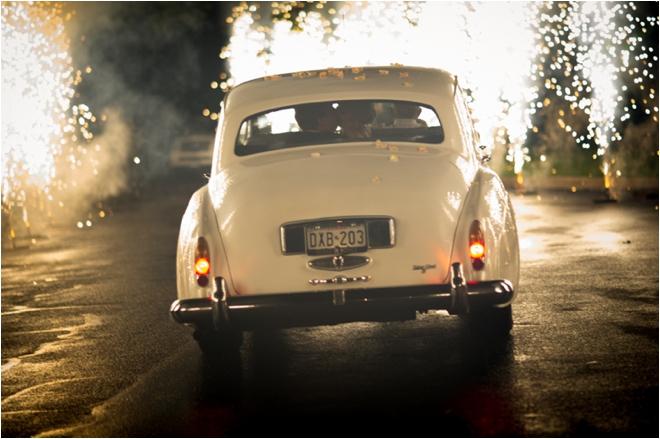 Vintage Car sendoff