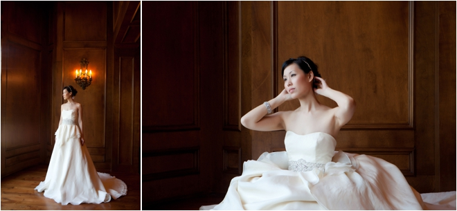Full body bridal portraits