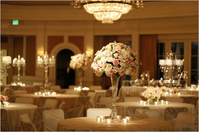 Classic Pink & White Country Club Wedding with Art Deco Inspiration