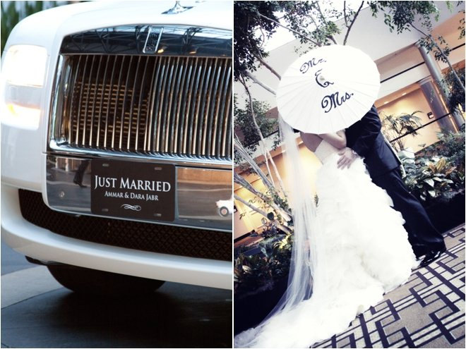 Mr. & Mrs. Just Married
