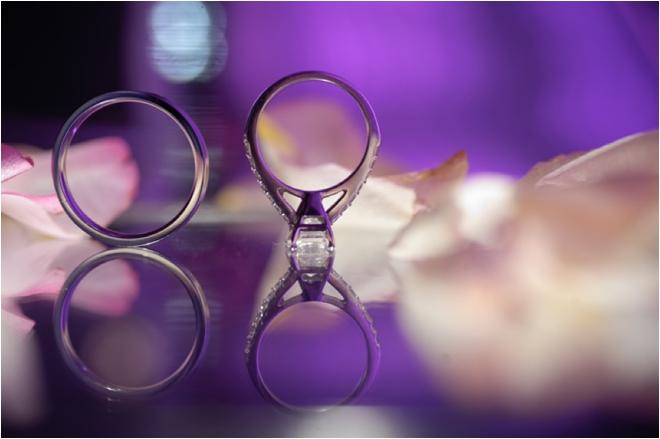 bride and groom wedding bands