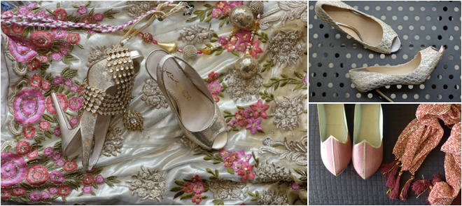 Bridal shoes and accessorites