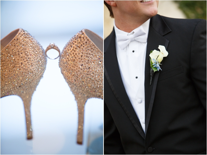 Bride ring and Groom boutonniere