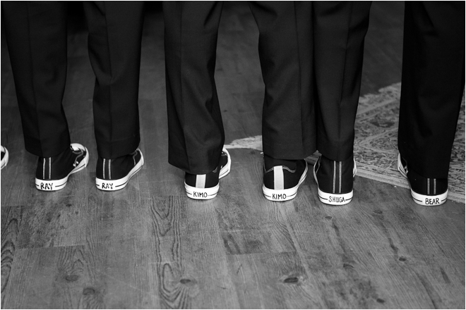 groomsmen shoes with names