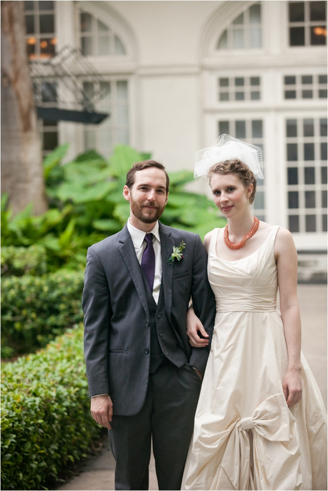 Vintage Elegant Hotel Galvez Wedding by Joshua Tyi Photography