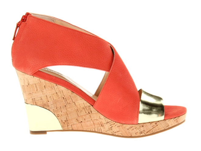 Metallic Accent Wedges: Five Faves for SPRING!