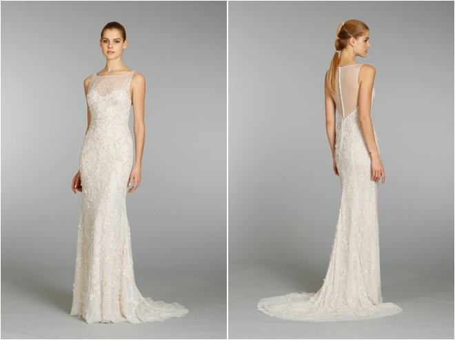 The Grace of Lace: Lazaro Fall 2013 Bridal