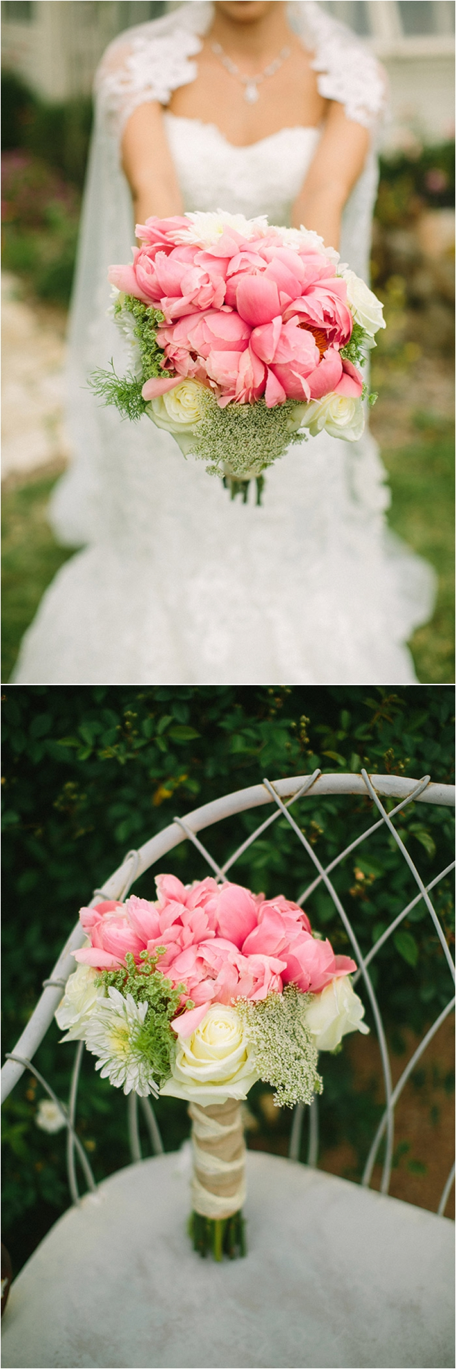 Pink and White Garden Party Wedding by Awake Photography