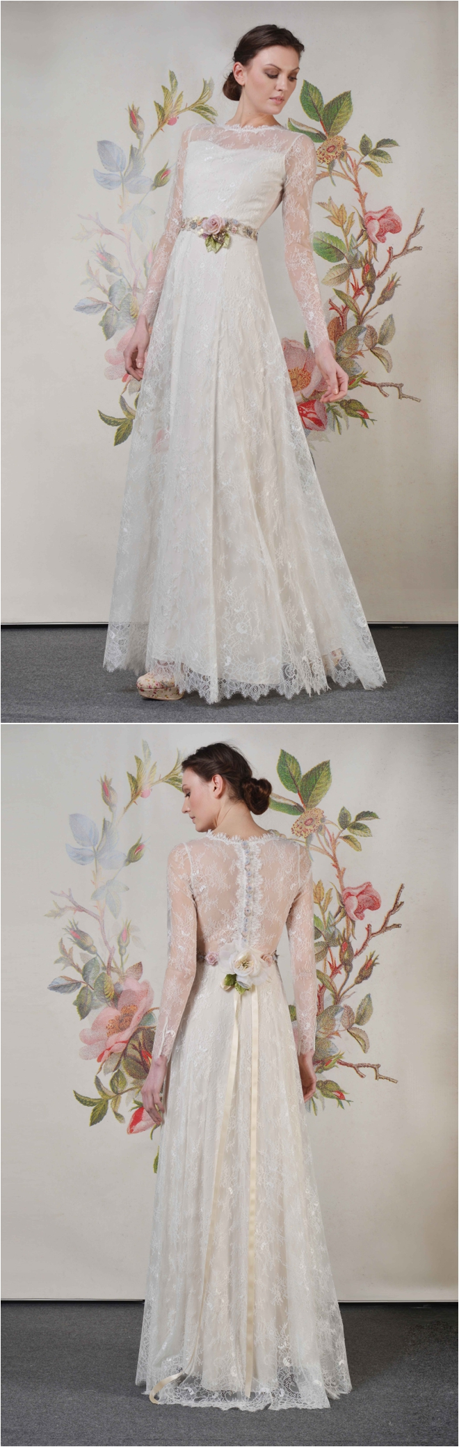 Fairytale Wedding Gowns by Claire Pettibone