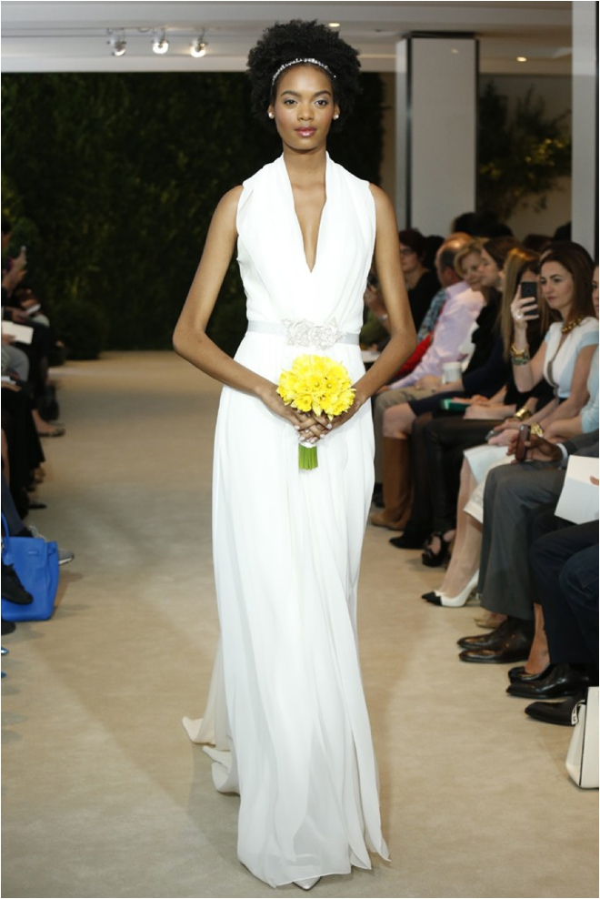 Regal, Refined, Reimagined: Carolina Herrera Spring 2014 Bridal