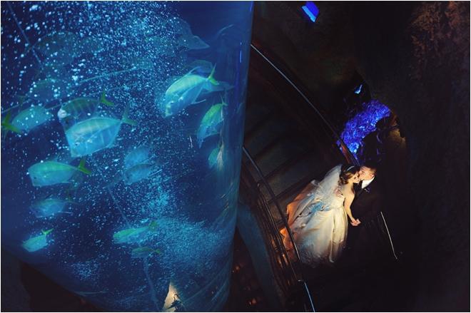 Downtown Aquarium Wedding By Kreative Angle Photography Houston Wedding Blog