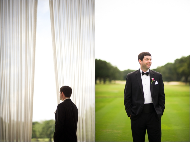 White, Pink and Lime Country Club Wedding