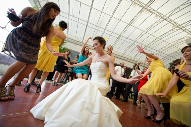 Gray and Yellow Sam Houston Hotel Wedding by Adam Nyholt