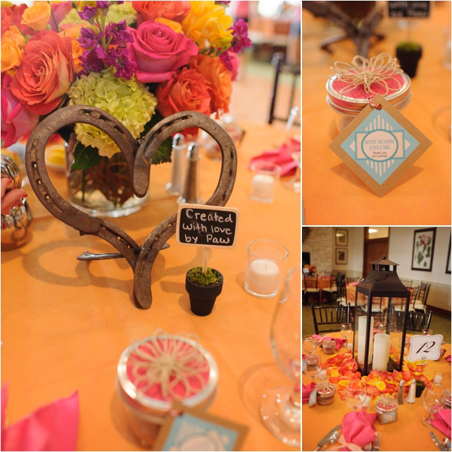 Pink, Orange, Lime, Turquoise Country Chic Wedding by Lindsay Elizabeth Photography