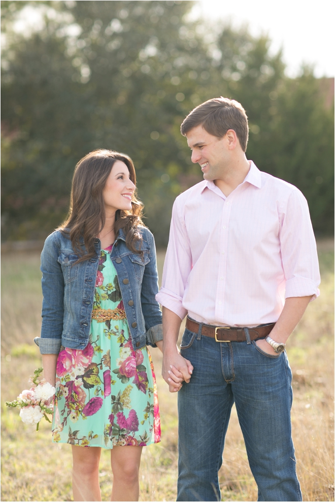 Downtown Brenham Engagement Shoot by Sarah Ainsworth Photography