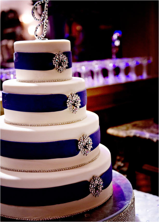 Purple, Silver and Bling Wedding at The Majestic Metro - Houston ...