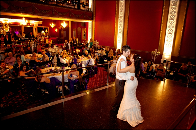 Purple, Silver and Bling Wedding at The Majestic Metro