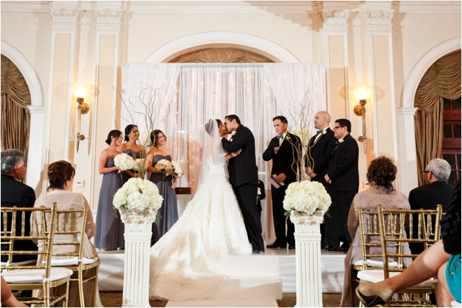 Classic Winter Wedding at the Crystal Ballroom at The Rice