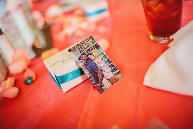 Coral and Turquoise Brady's Landing Wedding by Civic Photos