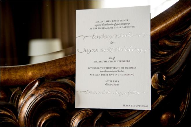 White, Silver and Purple Wedding at Hotel ZaZa