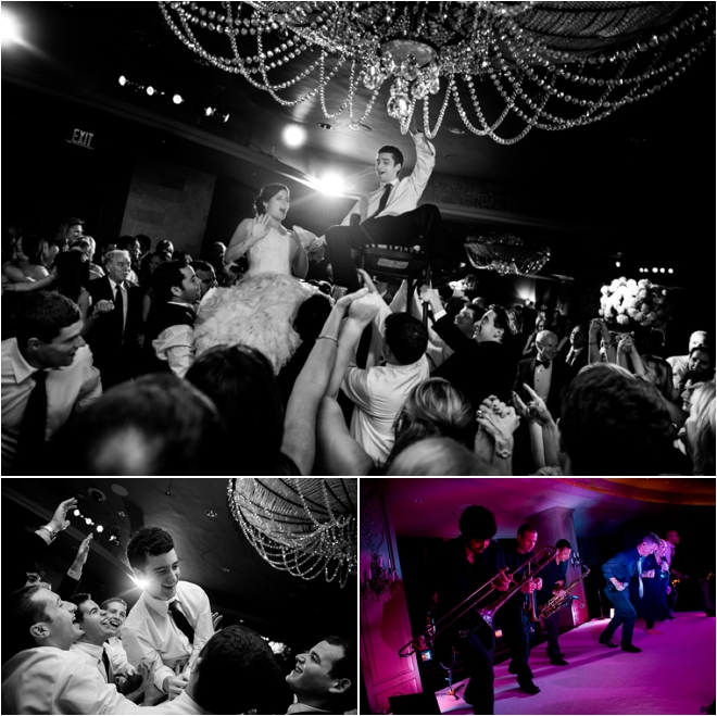 White, Silver and Purple Wedding at Hotel ZaZa