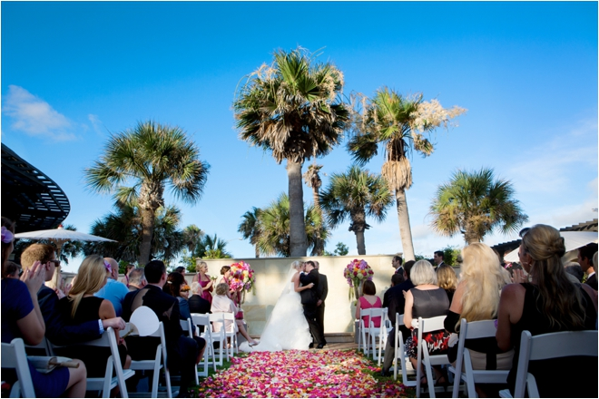 Lovely Texas Summer Seaside Wedding at Hotel Galvez