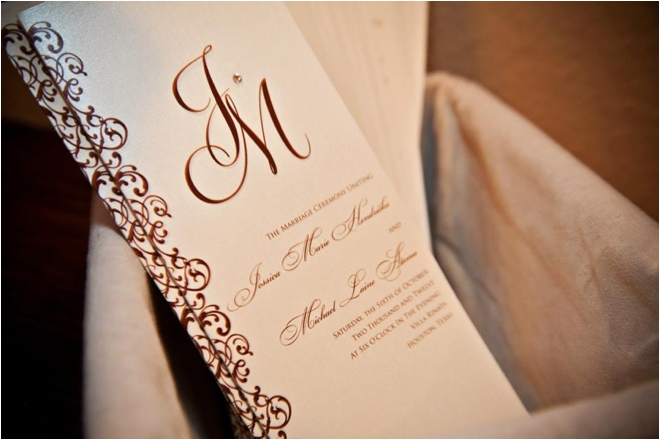 Champagne, Gold and Chocolate Villa Rinata Wedding