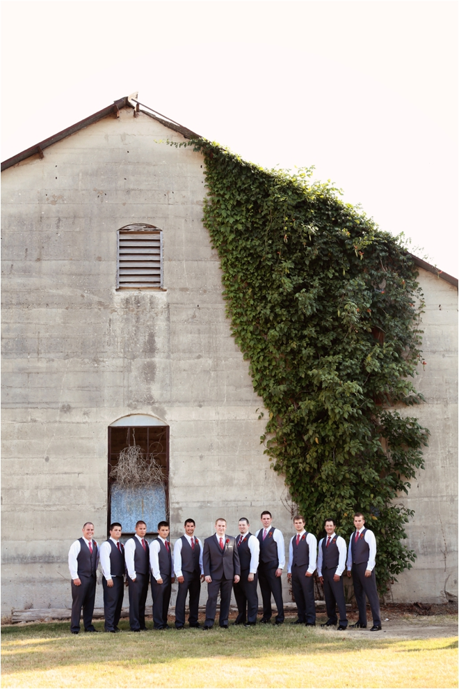 Red, White, Green and Black Olde Dobbin Station Wedding by The Silhouette Studio