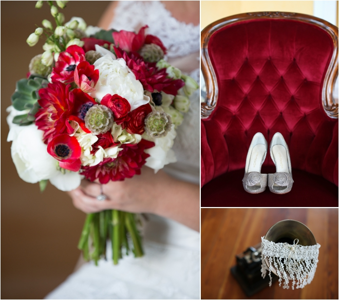 Silver Wedding Party Decorations On With Red White And 17