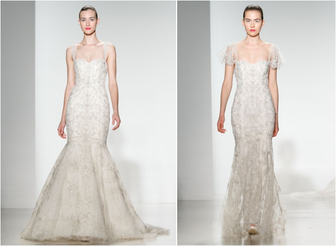 Bridal Preview: Kenneth Pool Spring 2014