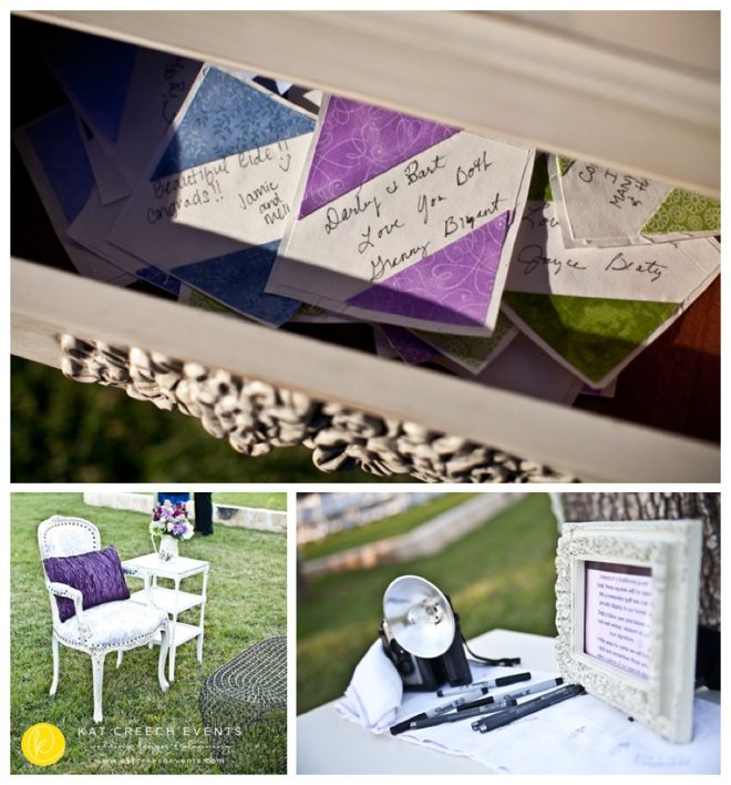 Guest Post: Kat Creech of Kat Creech Events on Awesome Wedding Guestbook Ideas
