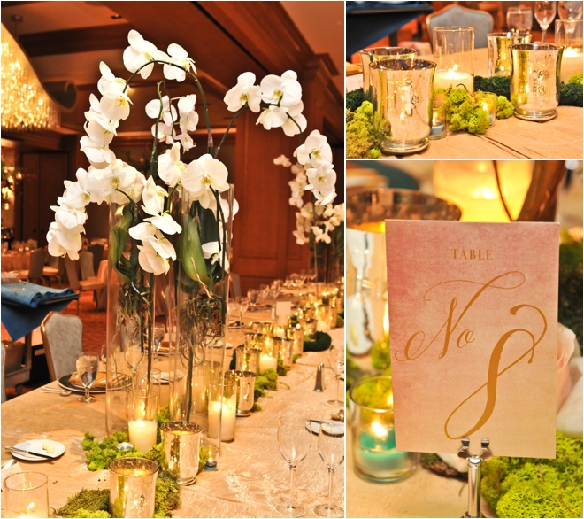 Vintage French Garden Wedding in Houston Hotel Ballroom
