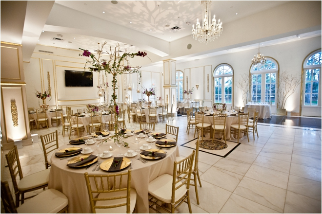 Gold, Lavender and Rose Chateau Cocomar Wedding by Steve Lee