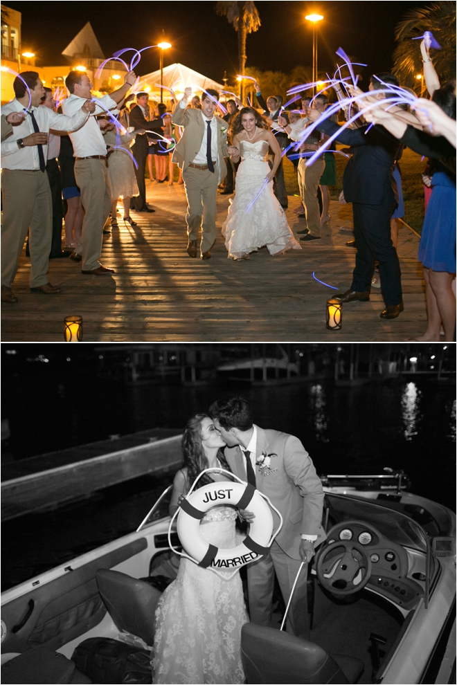 Personal and Pretty DIY Yacht Club Wedding