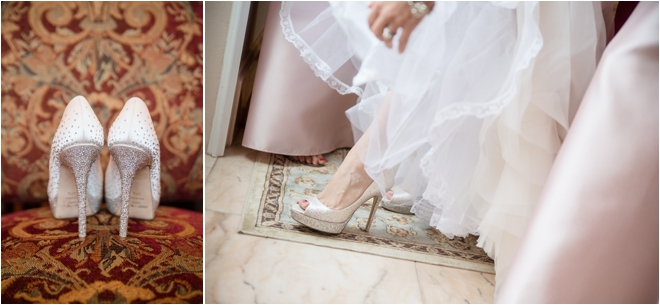 Classic, Traditional, Blush, Green and Gold Houston Wedding at Chateau Cocomar
