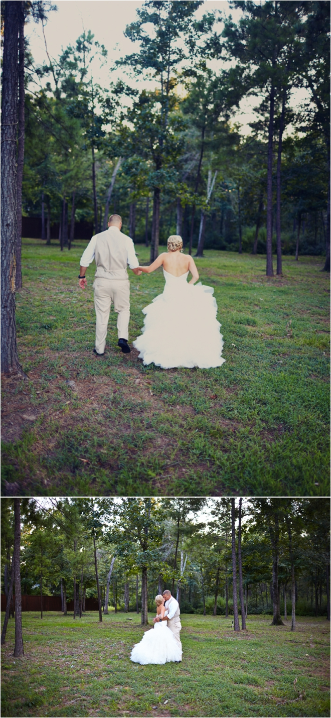 Rustic-Chic Amber Springs Wedding by Civic Photos with Bonus Hilarious Proposal Story