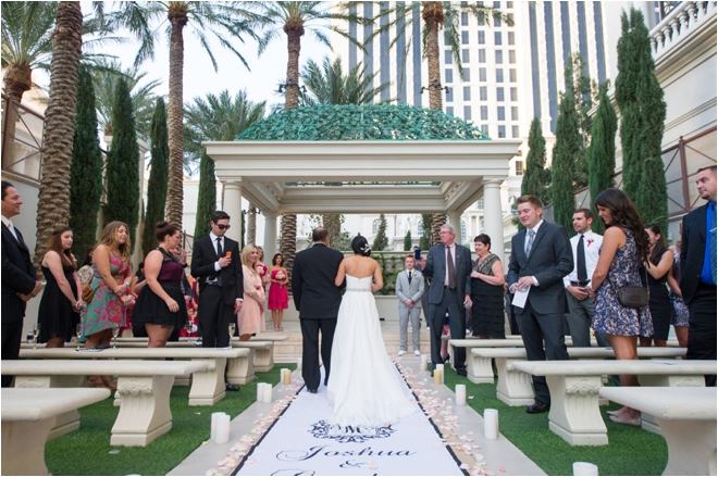 Las Vegas Wedding with Cocktails, Dancing and…Bowling!