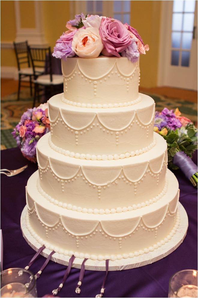 Lavender and Coral Galveston Texas Wedding at Hotel Galvez