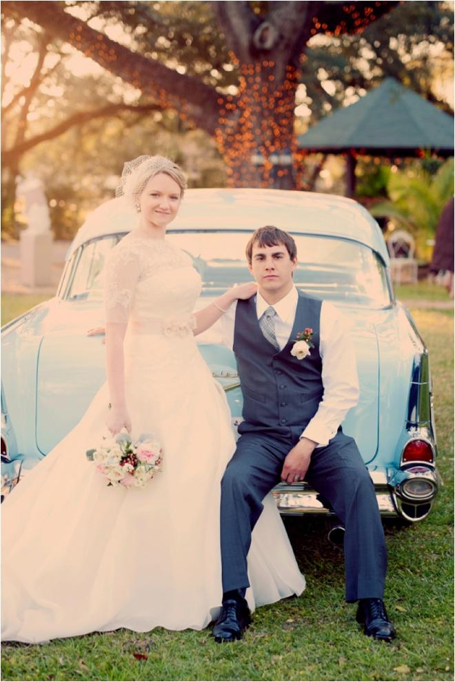 Dreamy Vintage Texas Garden Wedding