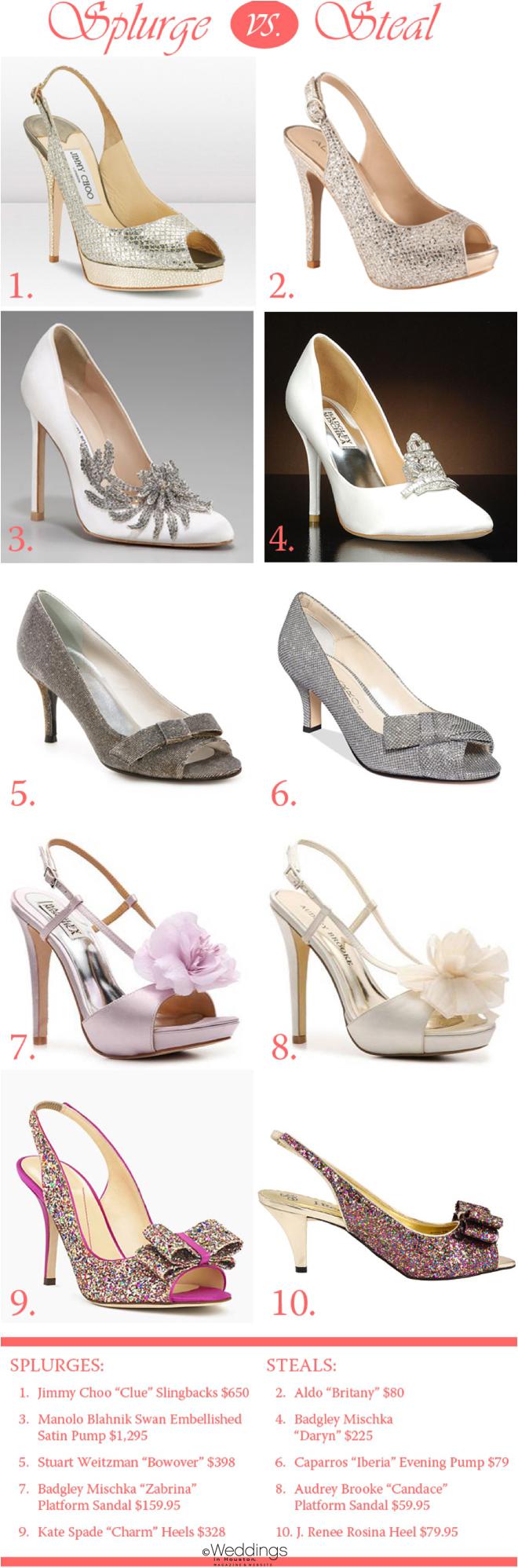 Shoe Edition: Splurge vs. Steal