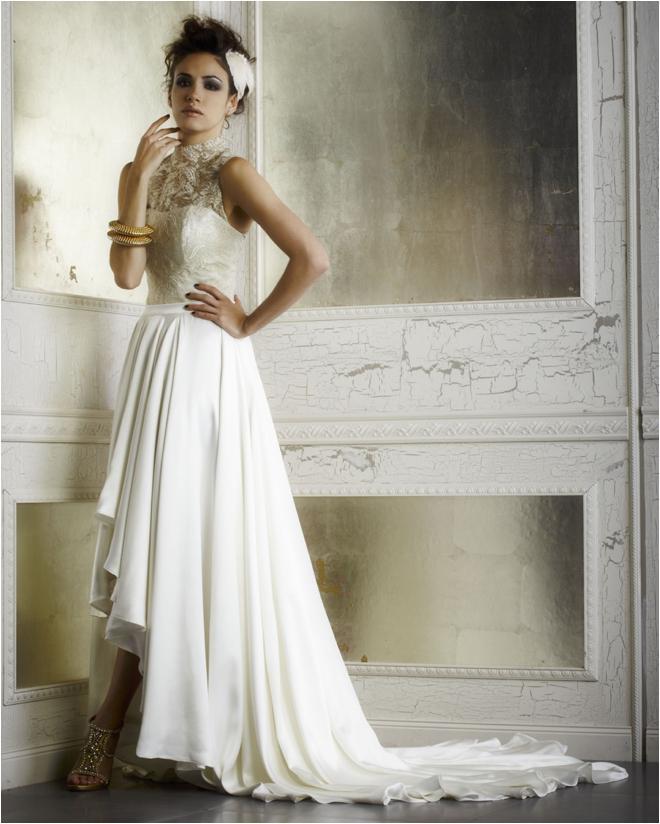 Edgy Wedding Gowns For Yourself Photos Della Giovanna