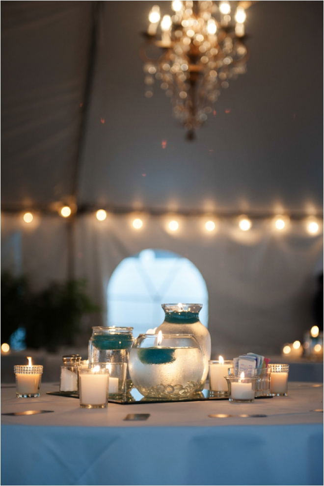 Silver and Teal Butler's Courtyard Wedding by Motley Melange