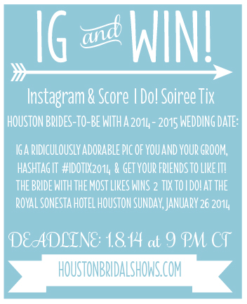 Win Tickets Jan 2014 Houston Bridal Show