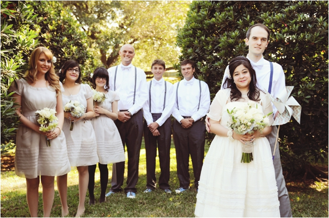 Vintage Blue, Cream And Silver Houston Wedding By Ethan