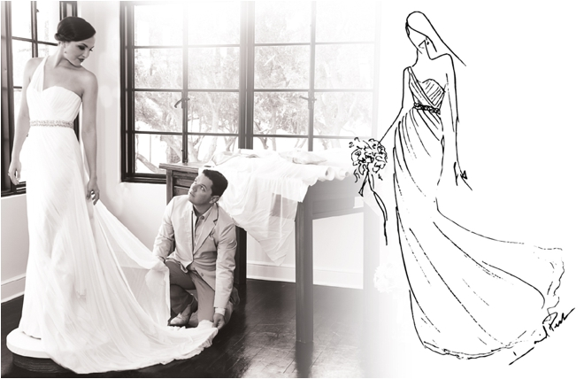 Houston Bridal Couture Goes Custom With David Peck USA