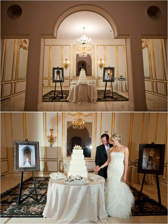 Black, White and Silver Chateau Cocomar Wedding by DC Stanley Photography