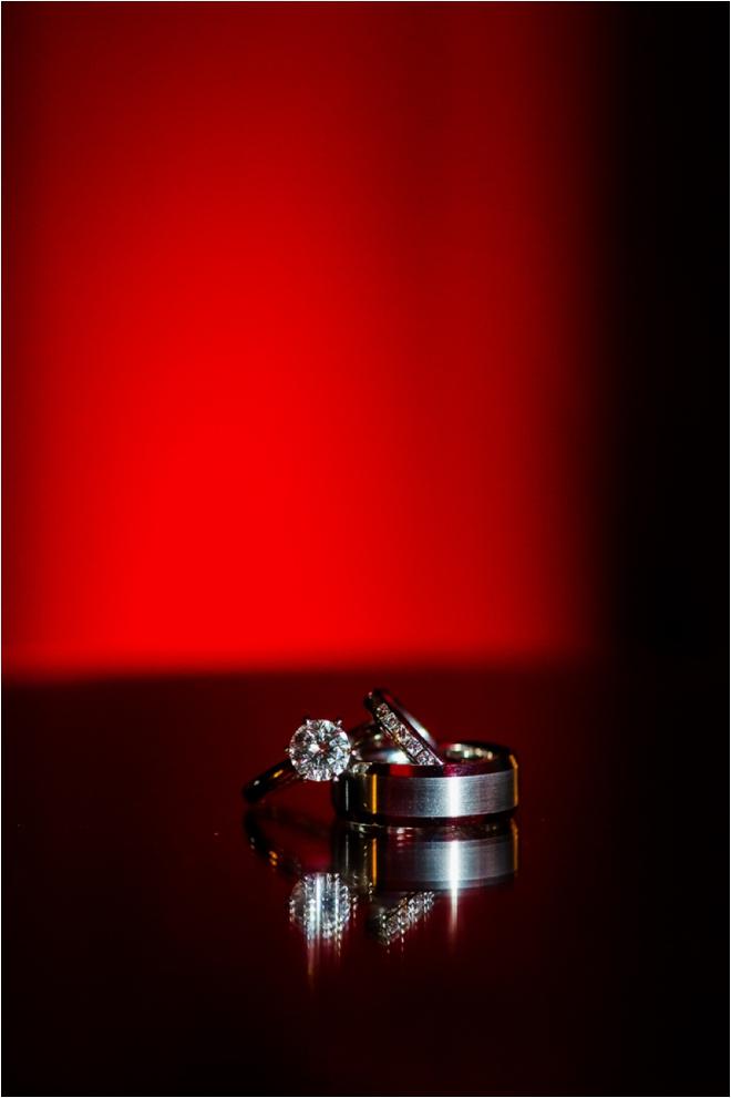 Black and Red Hotel ZaZa Houston Wedding by Motley Melange