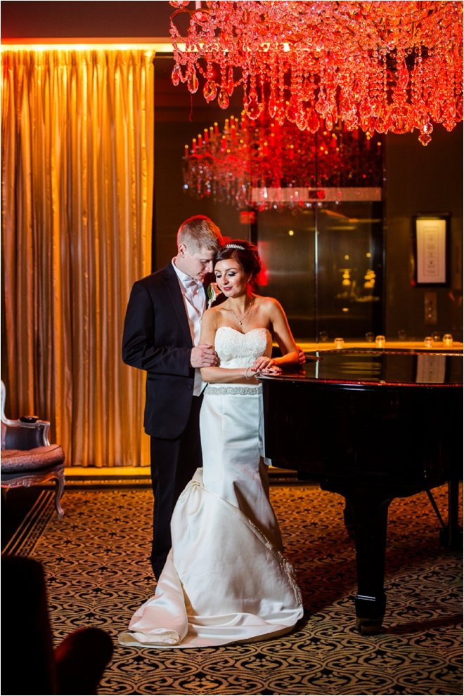 Black and Red Hotel ZaZa Houston Wedding by Motley Melange