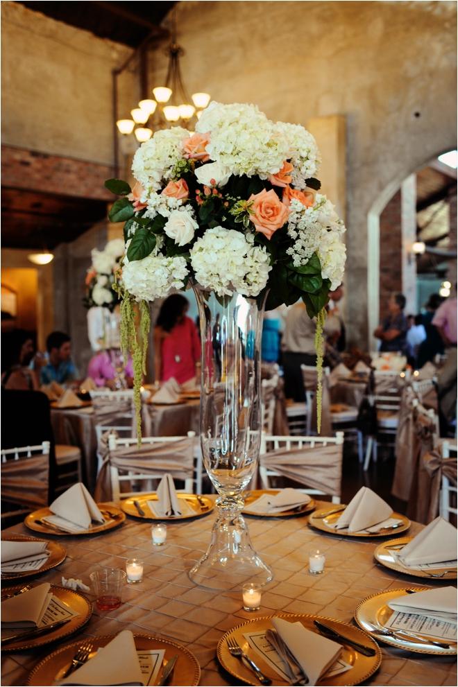 champagne and coral vintage wedding houston houston wedding blog. Black Bedroom Furniture Sets. Home Design Ideas